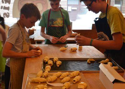 Croissant-Herstellung