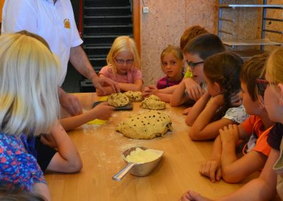 Kinder-Backen, Ferienprogramm